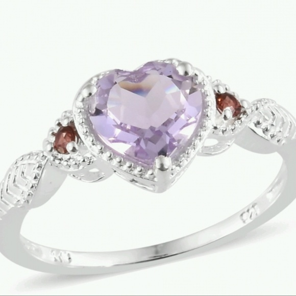 Unknown Jewelry - Rose De Grance Amethyst ring